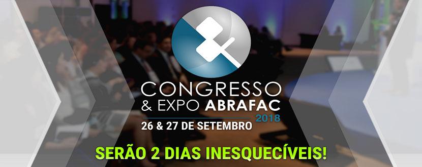 Congresso & Expo ABRAFAC 2018: faltam poucos dias!
