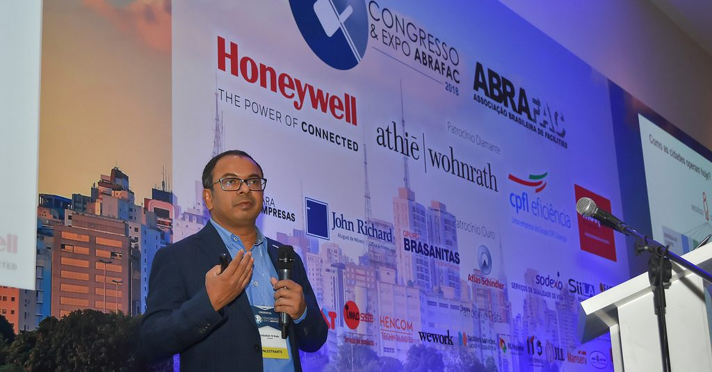 "Congresso & Expo ABRAFAC 2018: ""Desafie seus fornecedores"", instigou Jagadish N.Naik"