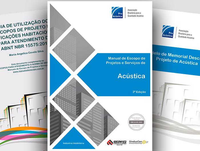 Manual de Escopo de Projetos e Serviços de Acústica