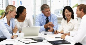 A interação social entre colaboradores, ajuda na construção de resultados?