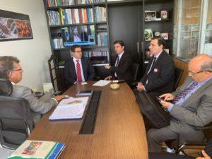 ABRAFAC discute apoio à MP 915 com líder da Frente Parlamentar do Setor de Serviços