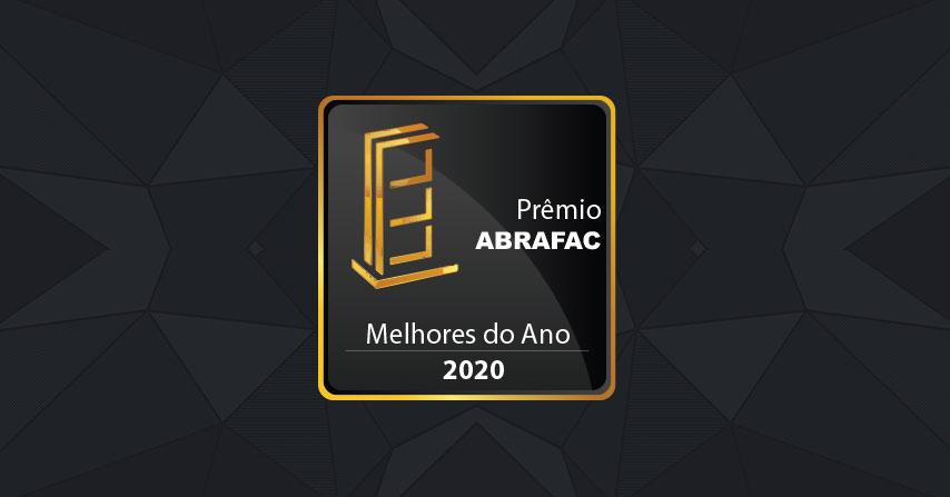 Abertas as inscrições para o Prêmio ABRAFAC Melhores do Ano 2020