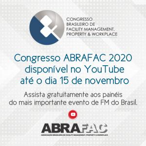 Congresso ABRAFAC 2020 ficará disponível no YouTube até 15 de novembro