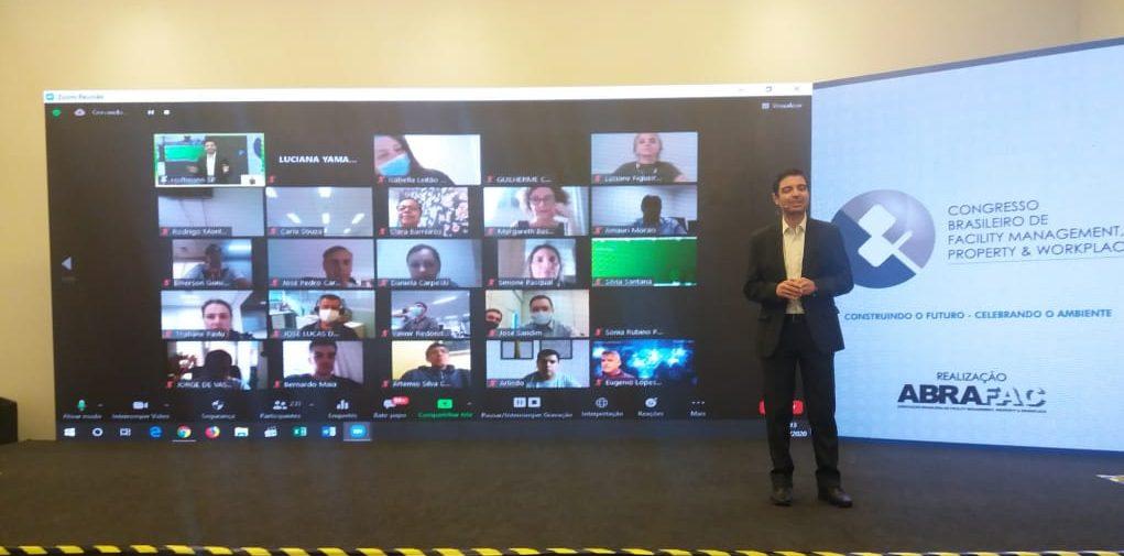 Primeiro dia do Congresso Brasileiro de Facility Management, Property & Workplace 2020 supera expectativas